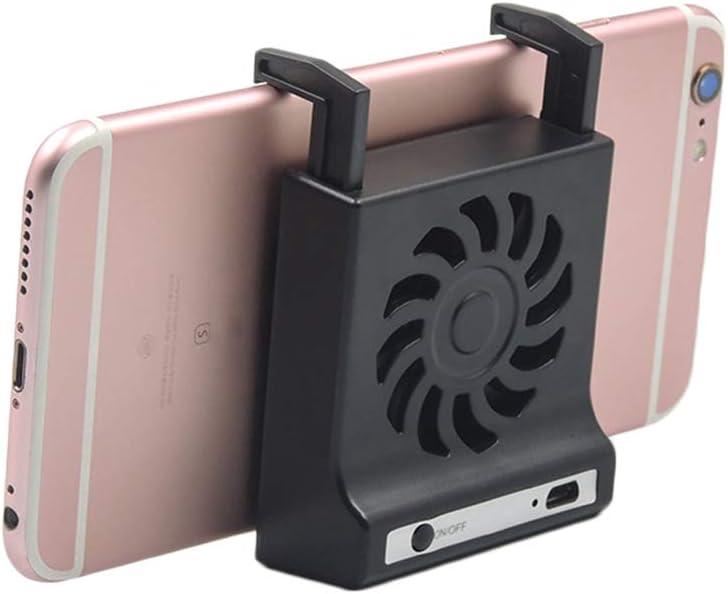 Busirde Desktop del Telefono Mobile di Raffreddamento Supporto della Ventola di dissipazione di Calore Smartphone dissipatore di Calore Staffa del Supporto Portatile
