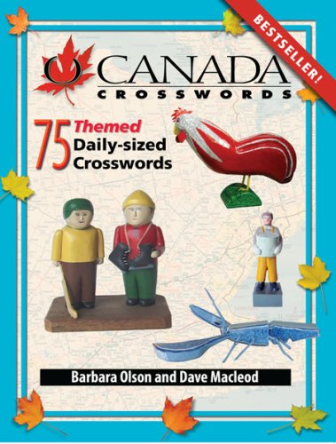 Read Online O Canada Crosswords Book 8: 75 Themed Daily-Sized Crosswords ebook