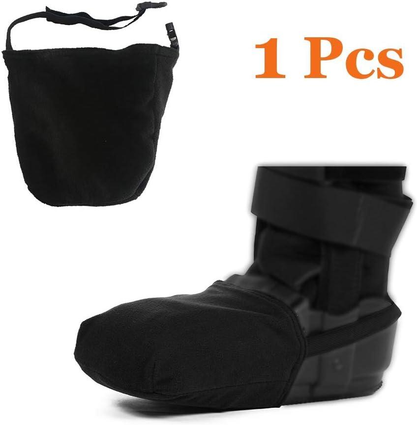 Funda protectora para calcetín de calcetín, suave, se adapta a patas, pies, botas de caña de caminar para mayor calidez y protección