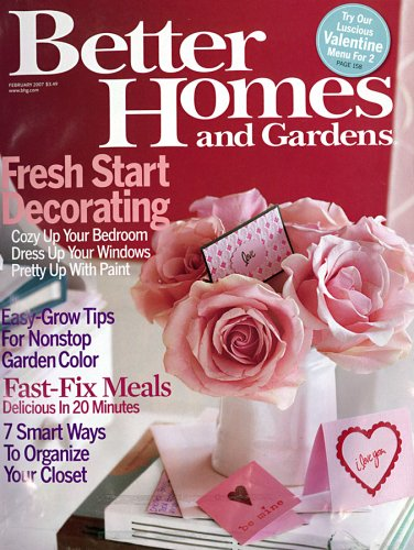 Better Homes & Gardens: Amazon.Com: Magazines