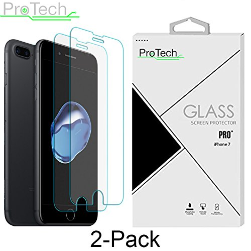 2 Pack iPhone Tempered Protector ProTech