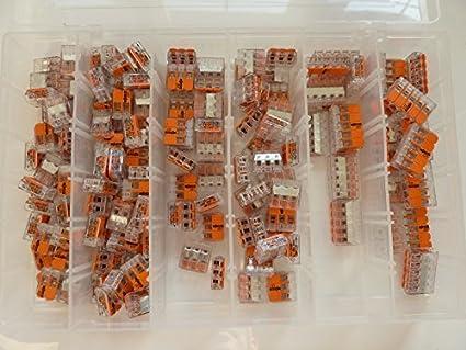 100x Wago 2273-204 Verbindungsklemme 4-Leiter