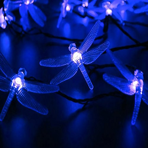 Outdoor Solar Lights Dragonfly in US - 4