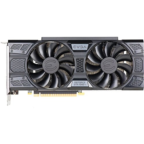 EVGA GeForce GTX 1050 Ti FTW Gaming Graphic Cards ACX 3.0, 4GB GDDR5, DX12 OSD Support (PXOC) Graphics Card 04G-P4-6258-KR by EVGA