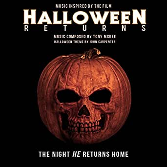 HalloweeN Returns (Music Inspired by the Film) by Tony McKee ...