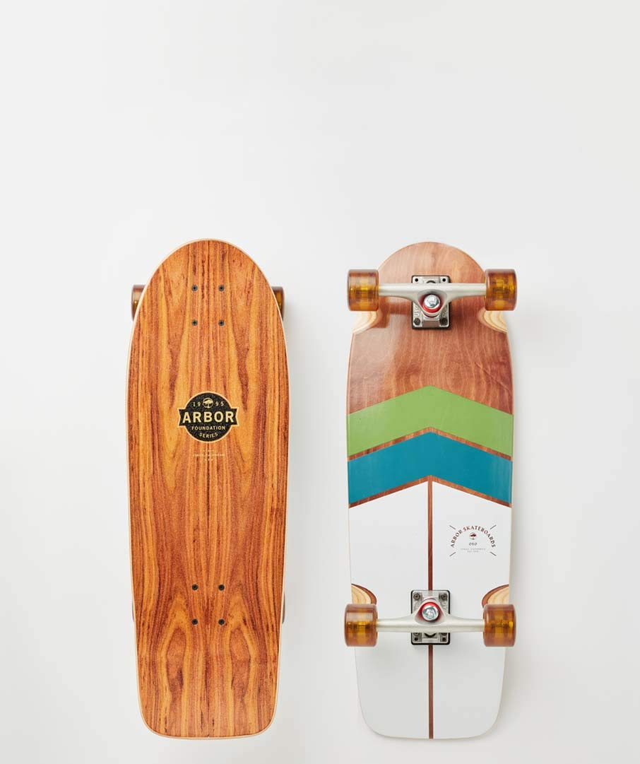 arbor oso foundation skateboard