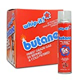 96 cans Whip-it 5x 300ml Refined Butane Fuel w/ TSC Sticker (96 can)