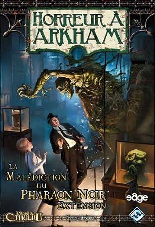 Arkham Horror - La Maldición del Faraón Oscuro (Ampliación): Amazon.es: Juguetes y juegos