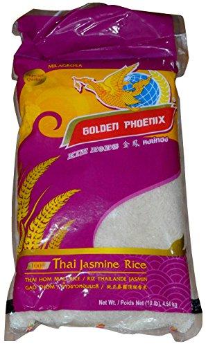 Golden Phoenix Pure Jasmine Rice From Thailand 10 ()