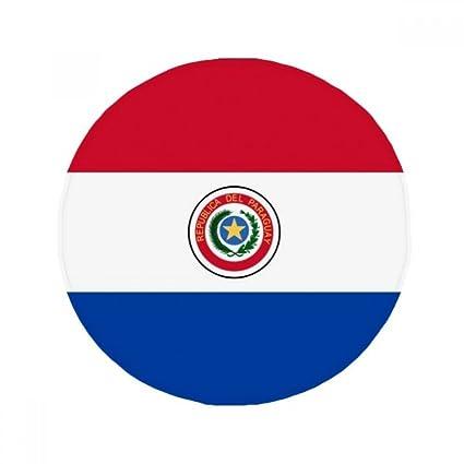 DIYthinker Paraguay américa del Sur país Bandera Nacional de Lucha contra el Piso resbaladizo Estera del