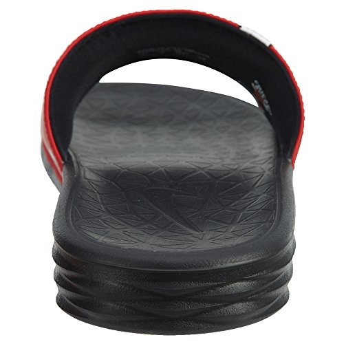 Nike Benassi Solarsoft Nba Mens Universitet Röd / Vit-svart
