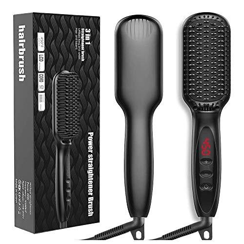 Hair Straightener Brush JUMPHIGH