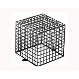TC223- CCTV CAMERA & LIGHT PROTECTION GALVANISED BLACK CAGE 23CM X 23CM X23CM