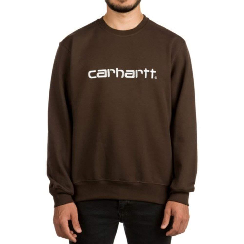 Carhartt Sweatshirt Sweat Braun L (Large)