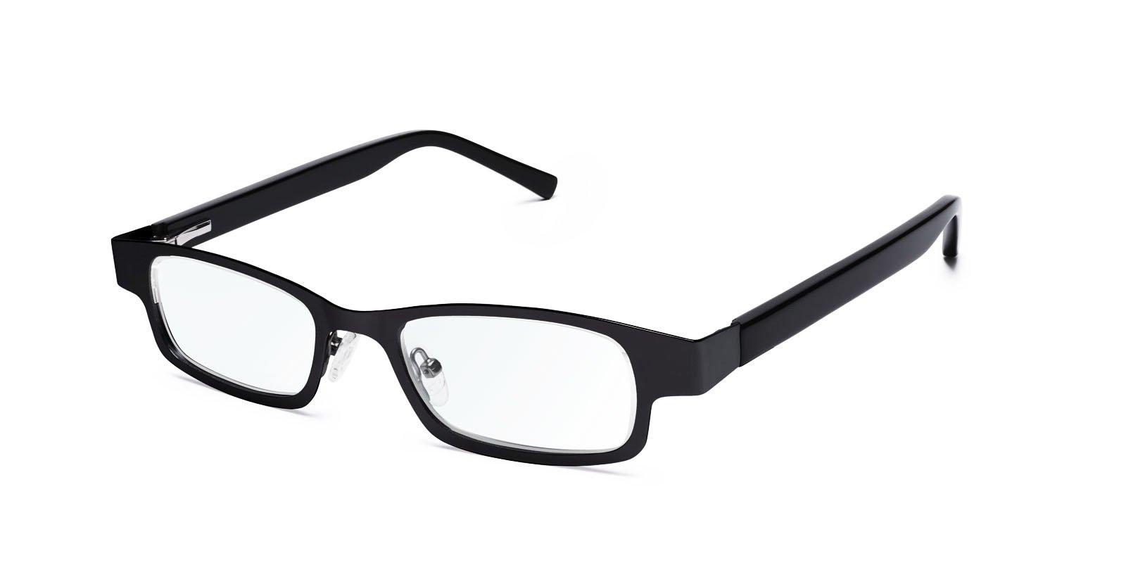 Eyejusters, Self-Adjustable Glasses, Combination, Black