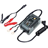 Energizer ENC2A 2 Amp Battery Charger/Maintainer with 6 volt and 12 volt Charging Selectivity and Smart Charging Technology
