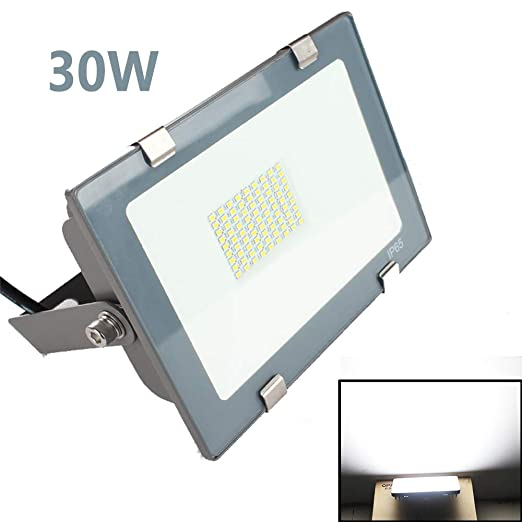 dami Foco LED Proyector, 30W, Lámpara Proyector LED Impermeable ...