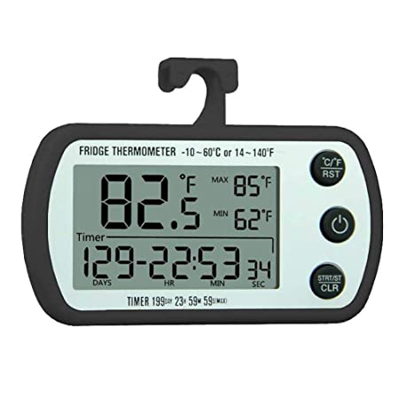 Termómetro Del Congelador Del Refrigerador, Monitor De Temperatura ...