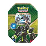 Pokemon Trading Card Game: 2016 Summer Shiny Kalos Tin- Zygarde-EX- With 4 Booster Packs and 1 Special Foil EX Card!