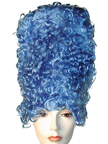 Adult Blue High Bee Hive Marge Simpson Costume Wig ()
