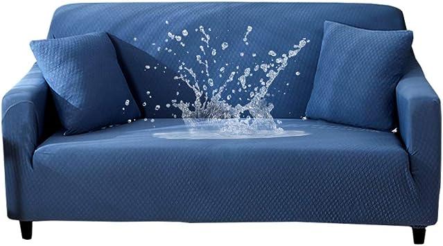 Amazon.com: HOTNIU - Funda para sofá de 1 pieza, impermeable ...