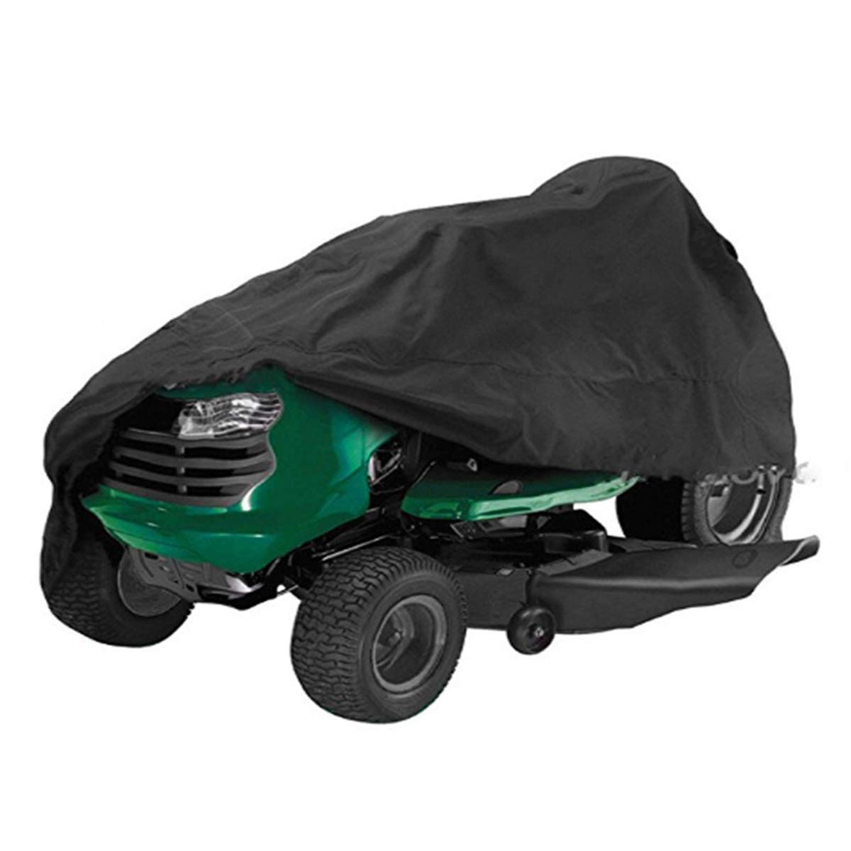 Queenbox Lawn Mower Cover for Riding Lawn Tractor by Heavy Duty 210D Polyester Oxford, UV Protection Waterproof Cover, M