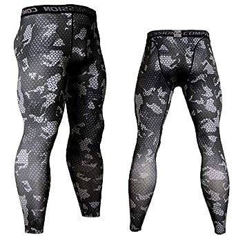 BBQBQ Pantalones Deportivos para Hombres Medias de Secado rápido ...