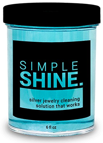 [NEW Silver Jewelry Cleaner Solution | Cleaning for Sterling Jewelry, Coins, Silverware and More] (Tiffany Blue Costume Jewelry)