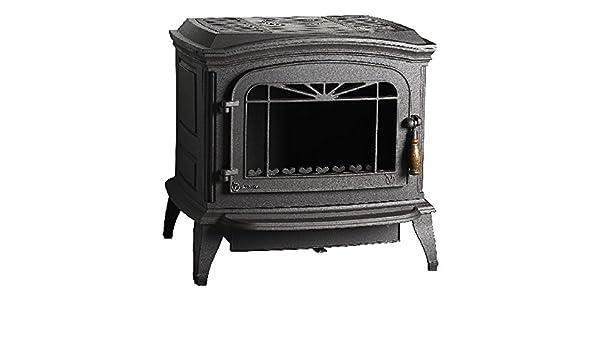 Estufa de leña Invicta bradford 6173 44, color gris: Amazon.es: Bricolaje y herramientas