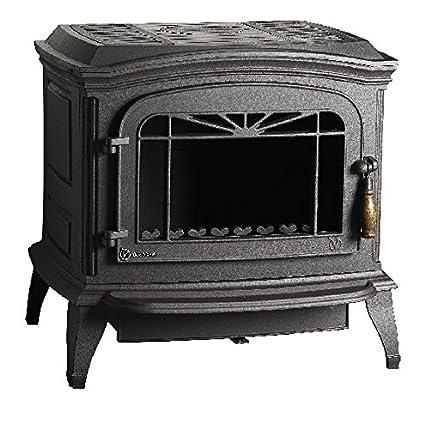 Estufa de leña Invicta bradford 6173 44, color gris