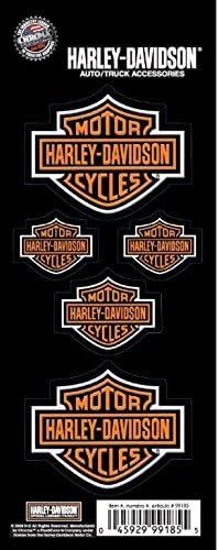 Chroma Harley Davidson Bar and Shield Decal