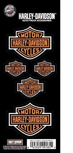CHROMA Graphics 99185 Harley Davidson Bar and Shield 5pc. Decal