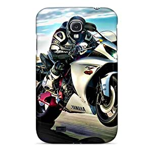 Awesome TKy548RewC Harries Defender Tpu Hard Case Cover For Galaxy S4- Yamaha