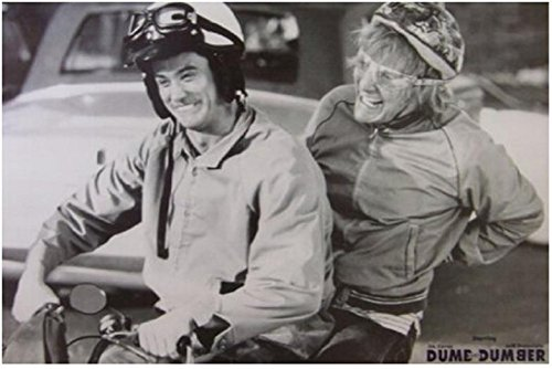 Da Bang Dumb and Dumber Movie Harry and Lloyd on Scooter Poster Prints high qualiot ty picture nice movie style custom poster 50x75cm