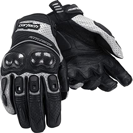 Cortech Mens Accelerator Series 3 Glove 1 Pack Black//White, Small