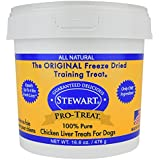 Pro-Treat Stewart Freeze Dried Chicken Liver Dog Treats, 1 Pack