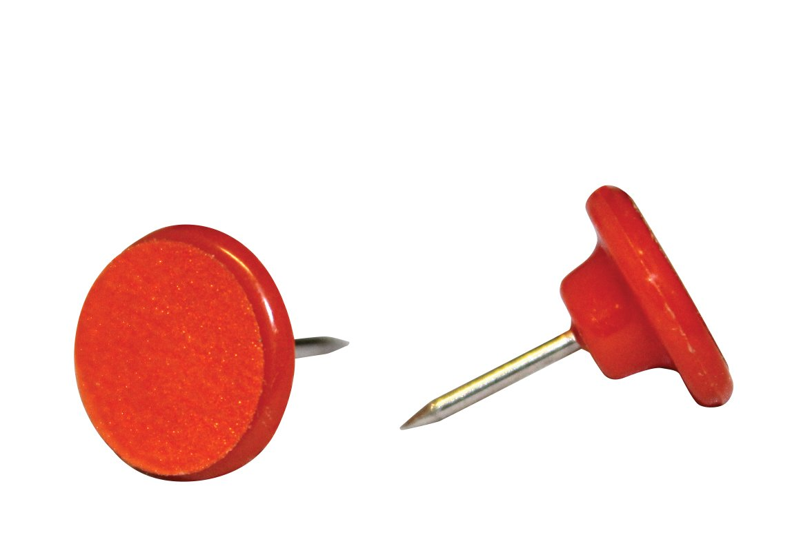Hme Products Plastic Reflective Tack (Pack of 50), Orange PRT-50