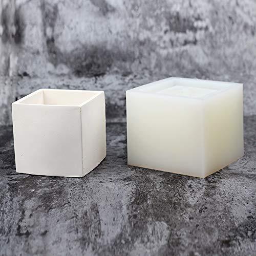 Nicole Bonsai Macetero Molde de silicona Molde de maceta de hormigón Cubo hecho a mano Cemento Molde: Amazon.es: Juguetes y juegos