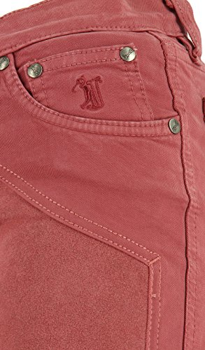 Jeckerson Donna 08i1jdopa01t0500072 Jeans Cotone Rosso rXXcwRTA4q