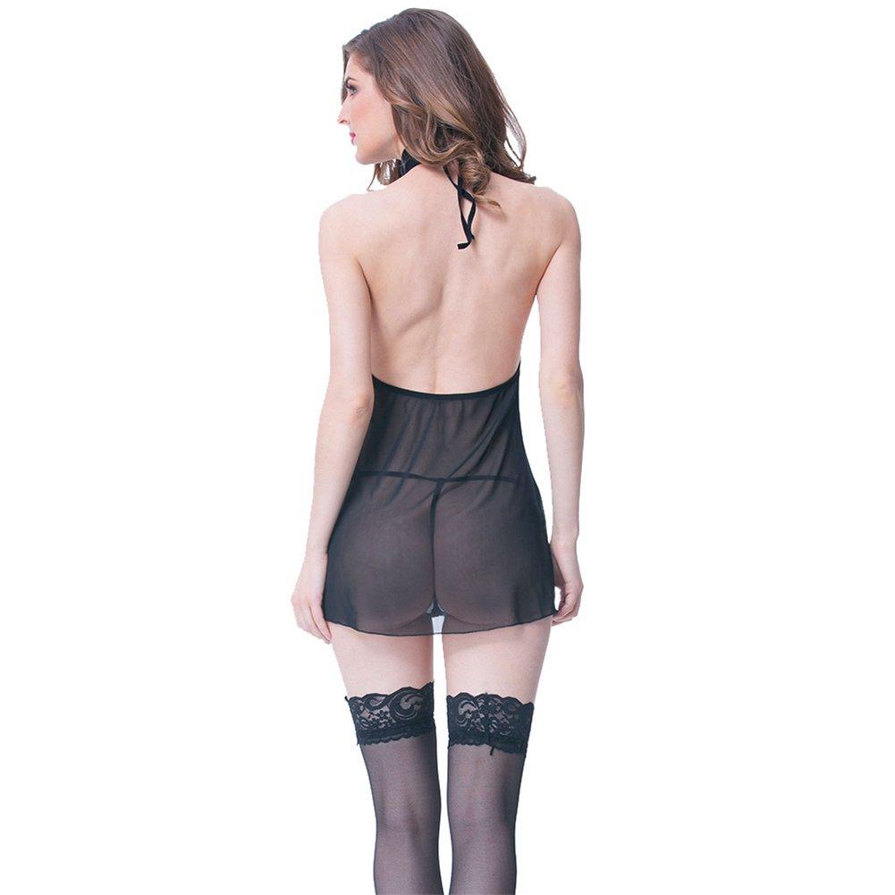 LCWORD Profunda Mujeres Tanga Profunda LCWORD V Ropa Interior Lencería Babydoll Vestido Camisón Sleepwear Set,M 55af04
