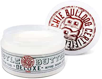 Hustle Butter Deluxe – Tattoo Butter for Before, During, and After the Tattoo Process – Lubricates and Moisturizes – 100% Vegan Replacement for Petroleum-Based Products – 5 oz