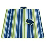 200x150cm Outdoor Picnic Blanket Tote for Camping Hiking Grass Travelling - Waterproof Handy Mat with Strap