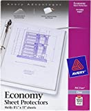 Avery Economy Weight Nonstick Sheet Protectors