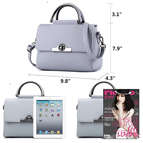Bag Flap Office Purse for Cover Luxury Tote Fashion Crossbody Women handle Purple Satchel Top Light Lady Handbags Melord RX4q11