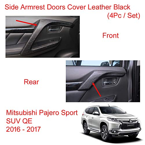 Powerwarauto Black Bug Guard Shield Hood Big Size for Mitsubishi Pajero Montero Sport SUV Medium Black Medium Black