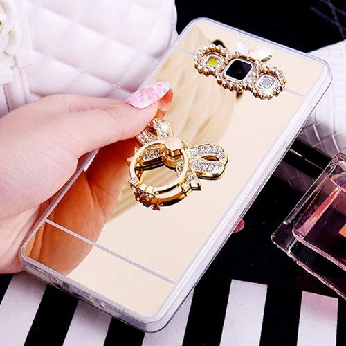 f4989820e9d Rhinestone Cases - Mirror Case Soft TPU Gel Luxury Cover for Samsung Galaxy  S9 S8 Plus S6 S7 Edge Acrylic Coque Note 8 5 J2 Prime J5 2017 J7 2016 - by  ...