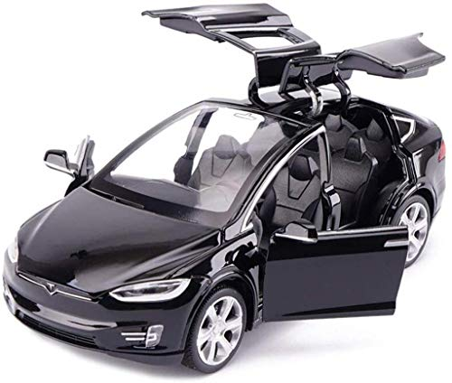 NYSCJJJ Car Model Car 1,32 Tesla Model X Off-road SUV Simulation Alloy Die-casting Toy Ornaments Sports Car Collection…