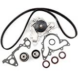 ECCPP Timing Belt Water Pump Kit TBK259 WP5025 Fit 2.5L 3.0L 6G72 6G73 Chrysler Sebring Cirrus Dodge Stratus Avenger Mitsubishi Eclipse Montero Sport Galant V6 SOHC
