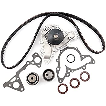 Timing Belt Water Pump Kit, ECCPP for Chrysler Sebring Cirrus Dodge Stratus Avenger Mitsubishi Eclipse Montero Sport Galant TBK259 WP5025 2.5L 3.0L 6G72 ...