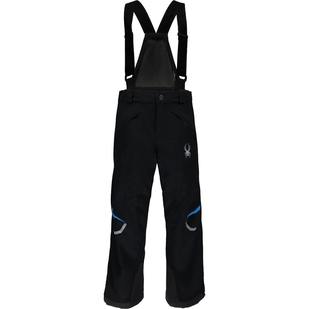Spyder Kids Boy's Force Pants (Big Kids) Black/French Blue 18